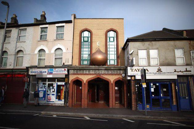 LONDON, UNITED KINGDOM: A mosque in Leyton, London, England.