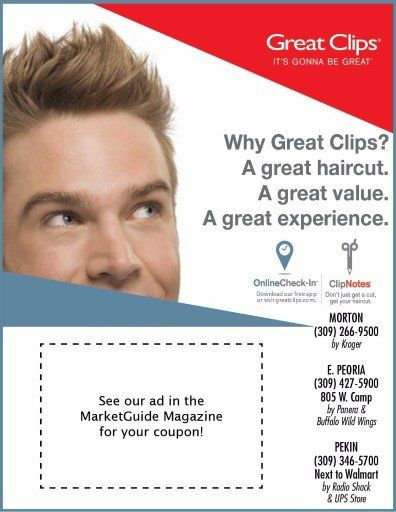 Great clips haircut discount coupons