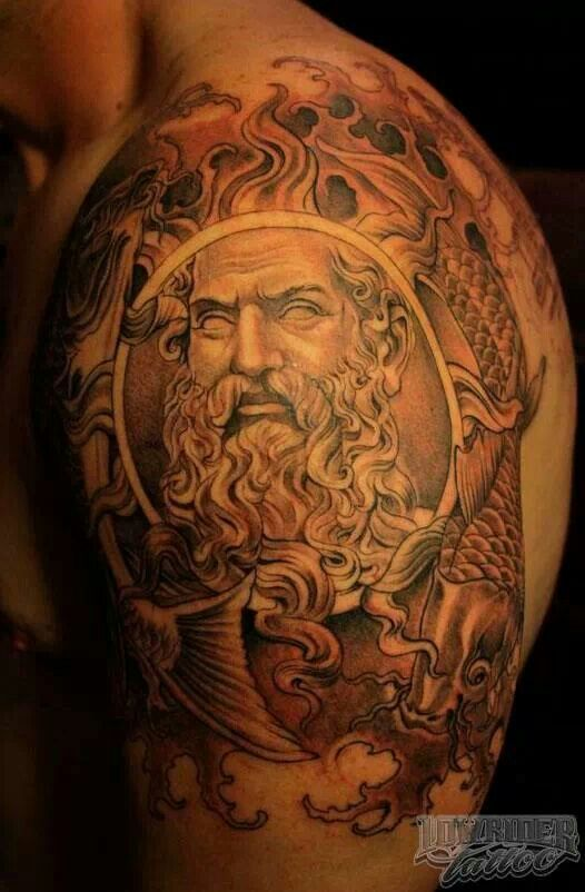 17 best images about tattoos on pinterest wisdom for Zeus tattoo designs
