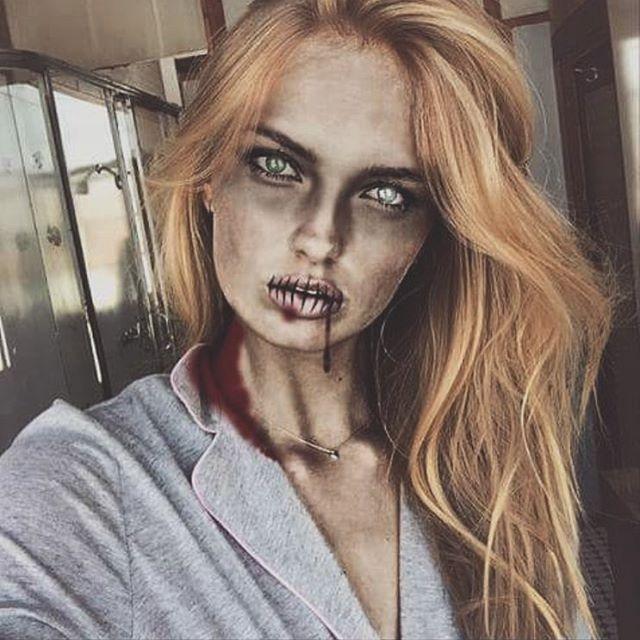 The Most Daring Model Halloween Costumes - Halloween 2015