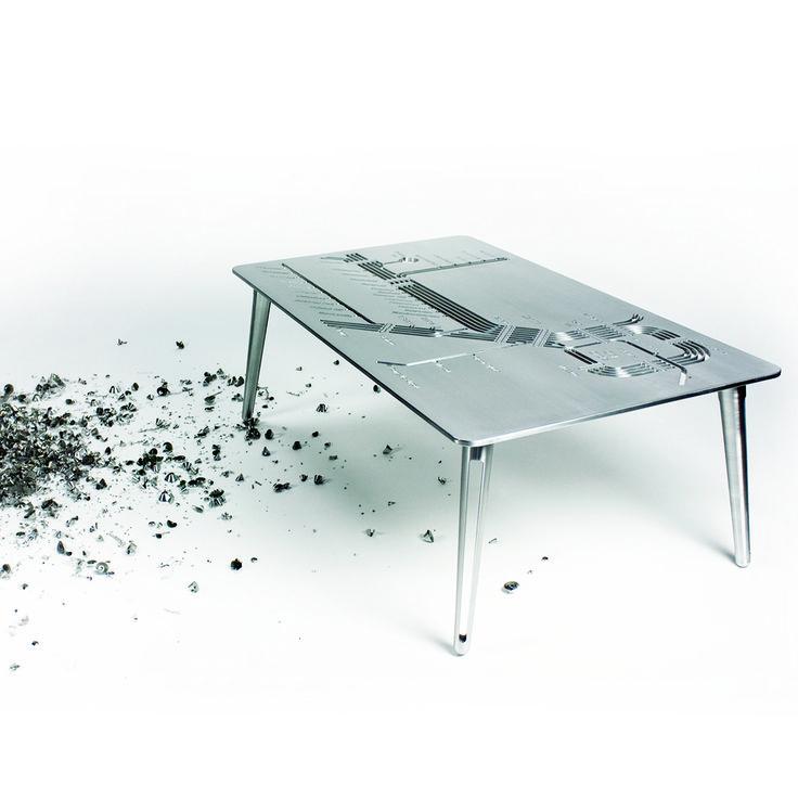 Platform 2. Machined aluminium designed and made in Australia