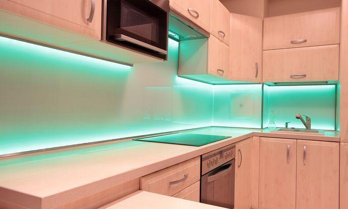 weiita sectional led accent light strip kit led k chenbeleuchtung k chenlicht k che licht. Black Bedroom Furniture Sets. Home Design Ideas