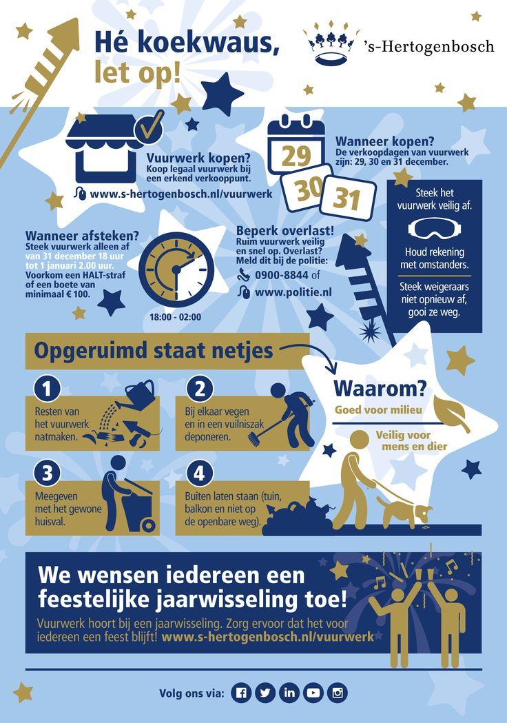 Infographic; Hé koekwaus, let op!