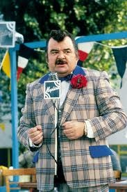 Hi-de-Hi! was a British sitcom that aired on the BBC from 1980 to 1988.  It was set in a fictional holiday camp during 1959 and 1960 and was written by Jimmy Perry and David Croft, who also wrote Dad's Army and It Ain't Half Hot Mum. The title was the phrase used to greet the campers and in early episodes was written Hi de Hi. The series revolved around the lives of the camp's management and entertainers, most of them struggling actors or has-beens.