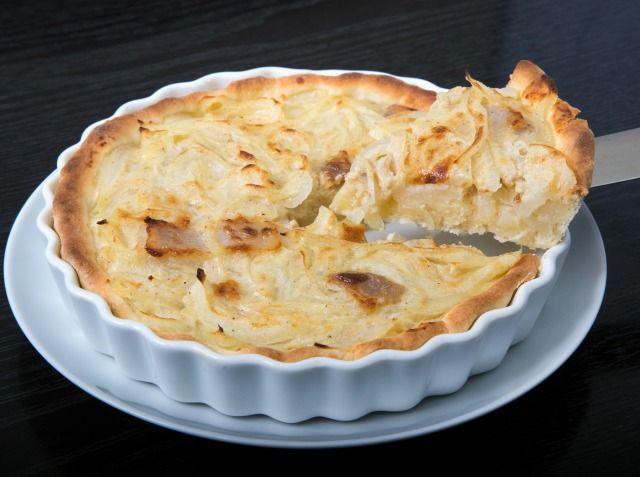 ツヴィーベルクーヘン(ドイツ風 玉ねぎのキッシュ) 松下 真之シェフのレシピ | シェフごはん