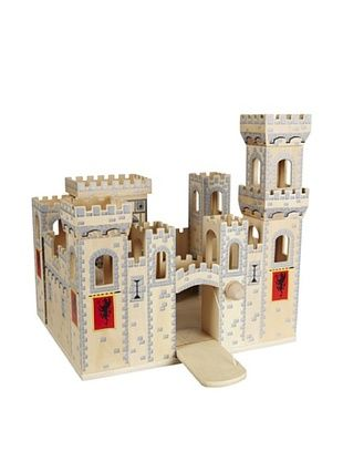 41% OFF Melissa & Doug Deluxe Folding Medieval Castle