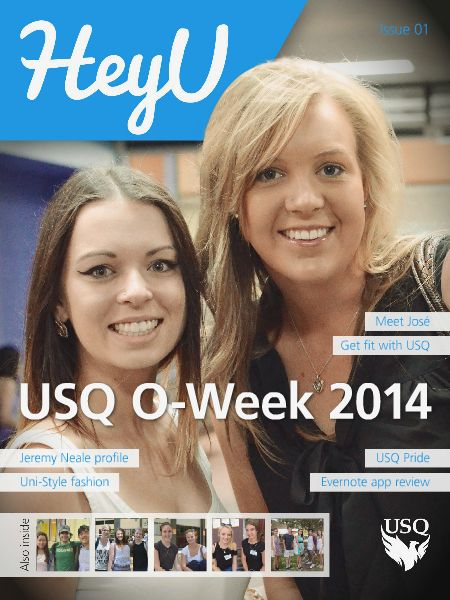HeyU Issue 1 - 7 March 2014