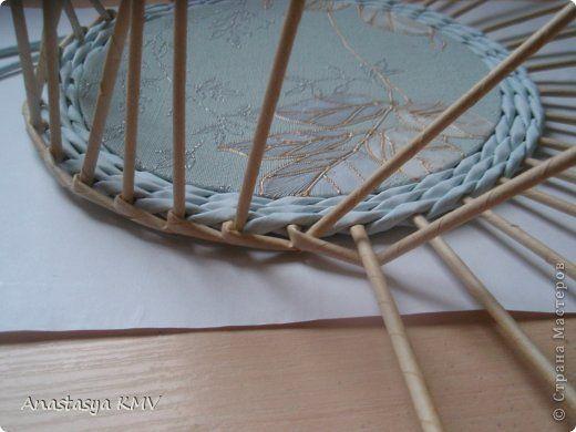 Поделка изделие День рождения Новый год Плетение И снова шкатулочки и небольшой МК Картон Трубочки бумажные фото 3