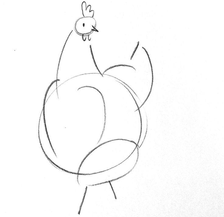 Scratch and Peck: HOW TO DRAW A CHICKEN
