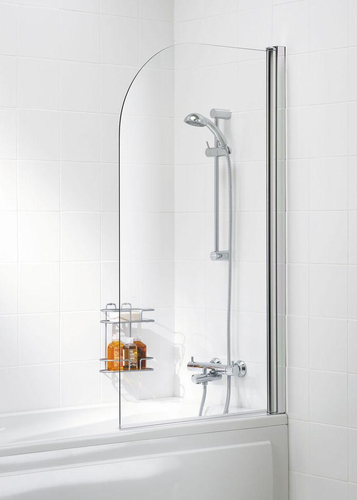 Curved Bath Screen |  Lakes Bathrooms