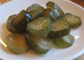 Grandma's Sweet Dill Pickles~ love these...always get lots of compliments on these. Really tasty on sandwiches.
