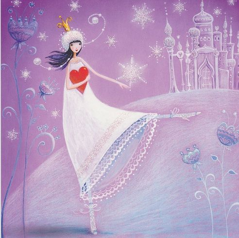 the magic, wonder & beauty of winter lives within the heart... <3 Beautiful art by Mila Marquis