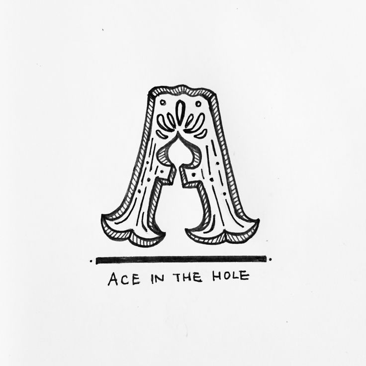 Ace in the hole.