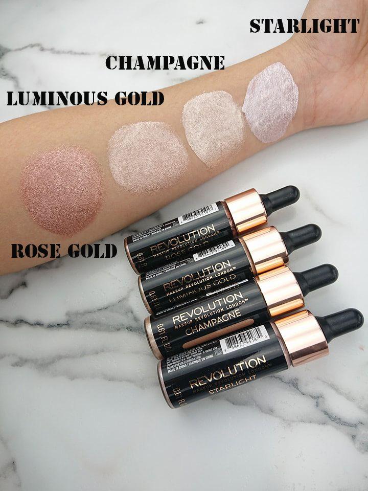 Makeup Revolution Liquid Highlighter! #highllighter #liquidhighlighter #makeuprevolution #orabel.ca