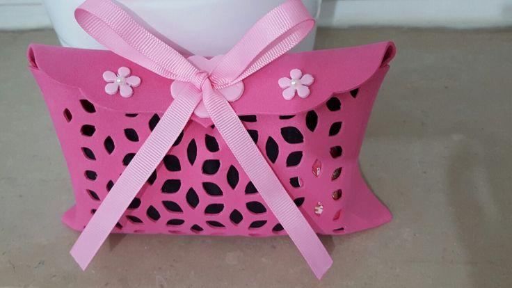 Box regalo per nipotina fatta con big shot