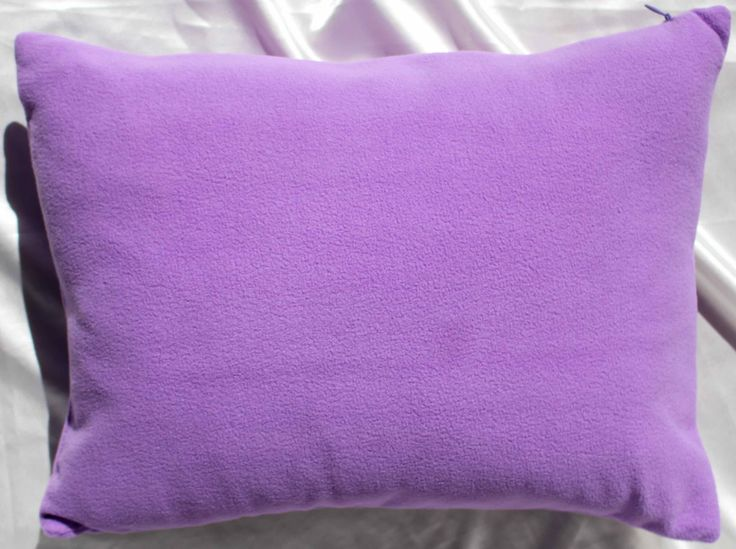 LILAC PLUSH- Baby Pillow Nursery pillow dimple Chenille Mink Soft travel infant pillow SIZE 12 X 16 handmade by R. Marcell Collections by RMarcellCollections on Etsy