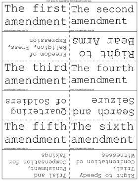 Can someone explain each amendment to me? please?