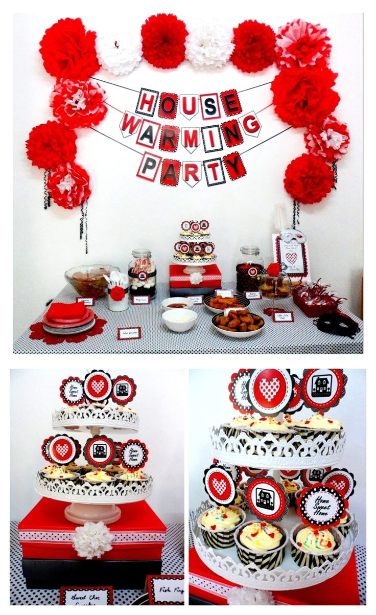 Tres Chic The Party Planner: HOUSEWARMING PARTY