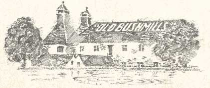 THE OLD BUSHMILLS DISTILLERY - near Giant's Causeway and The Dark Hedges, Co. Antrim, Ireland