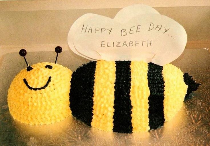 Bzzzzz - Bee cake I made for my niece