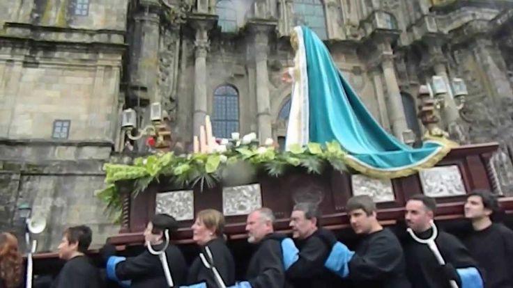 Procesiones Cofradía Franciscana de La Vera Cruz de Santiago (Semana san...