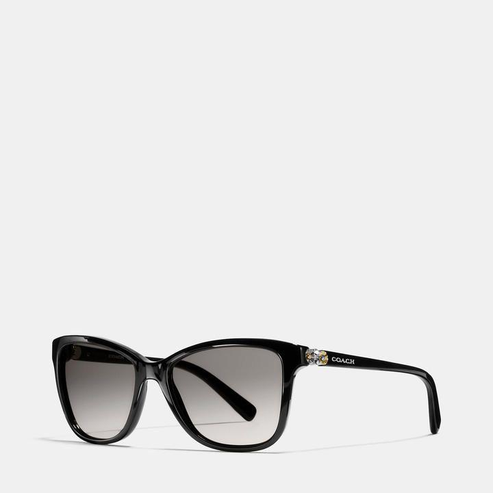 COACH Coach Daisy Rivet Rectangle Sunglasses - $195.00