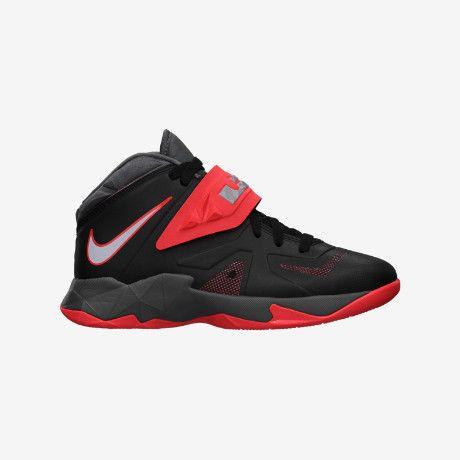 LeBron Zoom Soldier VII (3.5y-7y) Kids' Basketball Shoe size 6.5