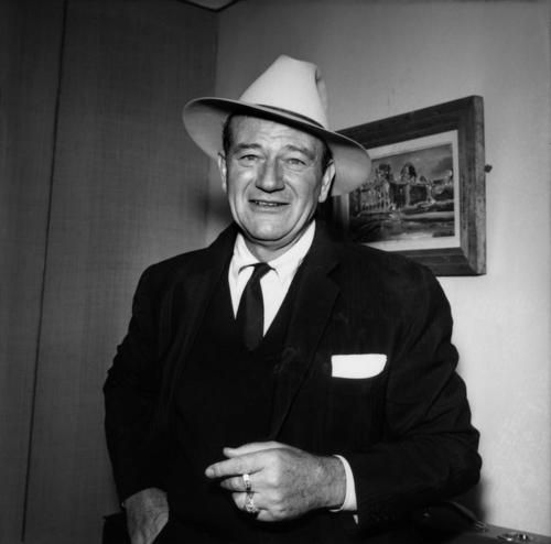 John Wayne, por Raymond Depardon, 1960