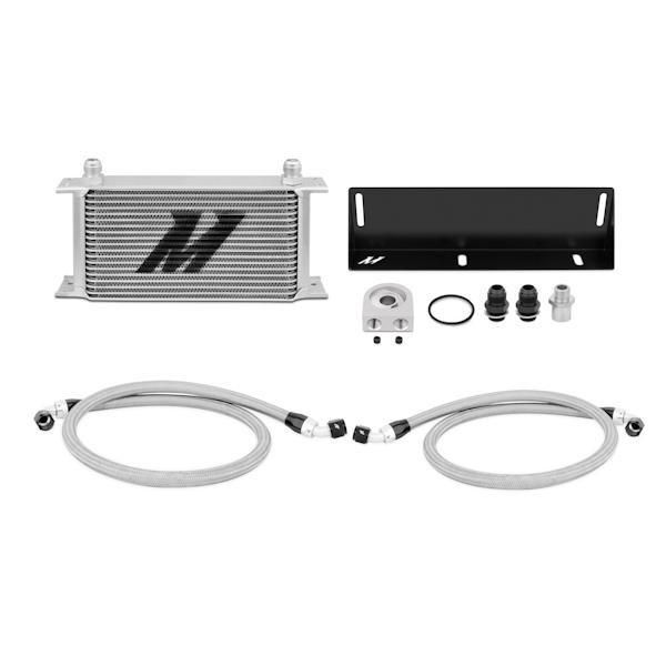 Mishimoto 79-93 Ford Mustang 5.0L Oil Cooler Kit - Silver