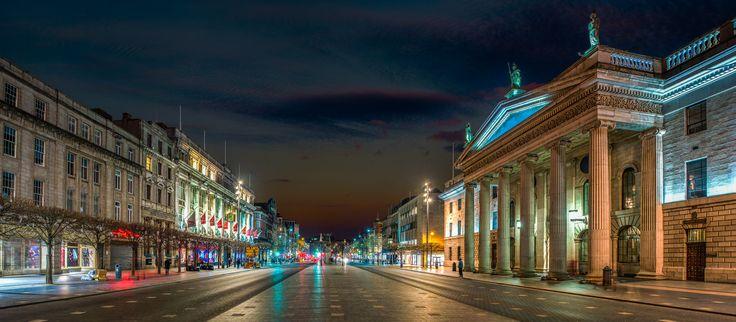 O' Connoll Street, Dublin, Ireland