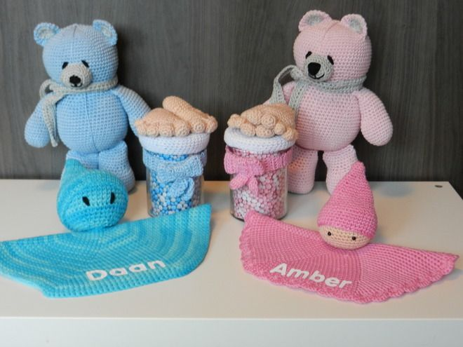 A great gift for a babyshower www.sonjashaakboet.nl