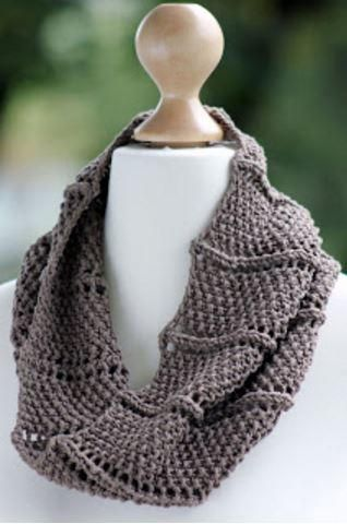 Ridge and Furrow Knit Cowl Pattern | This cowl knitting pattern is silky and gorgeous.