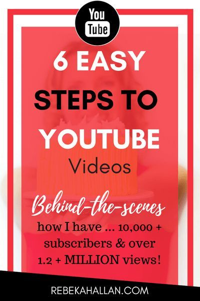 6 Steps to YouTube videos | Look at you, Super Star! Pressing play on creating, recording, editing videos and uploading onto YouTube and wonder how much it will all cost. It is doable ... | Behind-the-scenes on how I have 10,000 subscribers and 1.2 million views!