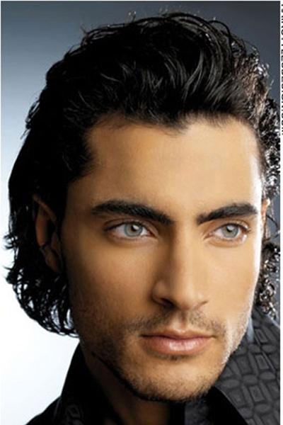 Voluminous slicked back hair m e n s pinterest slicked back hair eyes and hair - Slick back hair ...