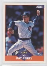 1989 Score #364 Pat Perry Chicago Cubs Baseball Card