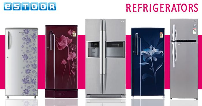 Amazing Offers On Refrigerators @ eSTOOR.com
