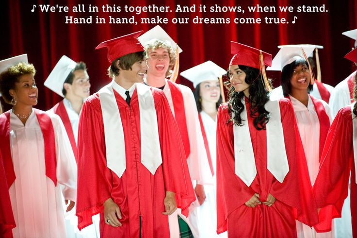High School as Told By Disney Lyrics (they're not all from High School Musical though)