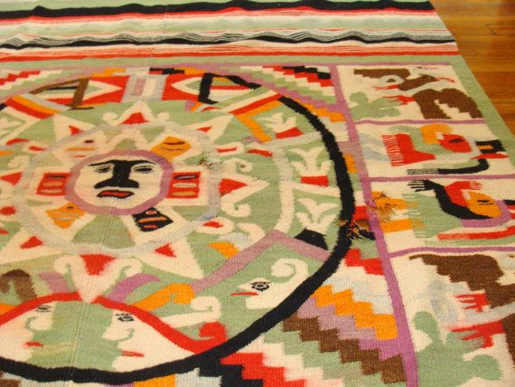 11 Best Images About Rugs Mexican On Pinterest Carpets