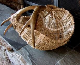 Reclaimed antler baskets