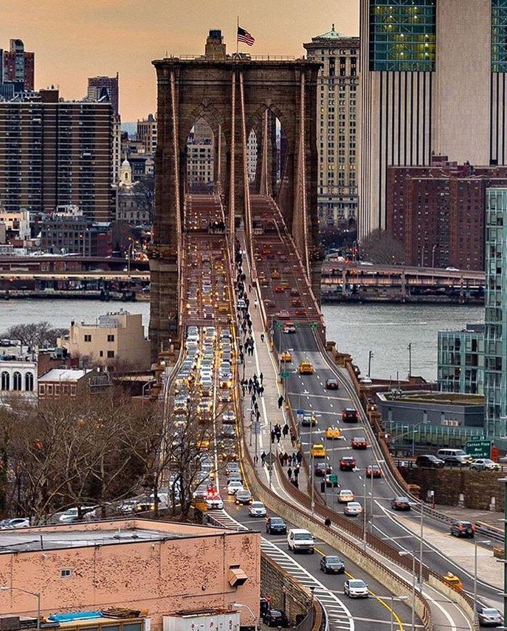Live dort zu sein und selbst die Brooklyn Bridge raufzugehen, das ist unbezahlbar. Einfach herrlich!