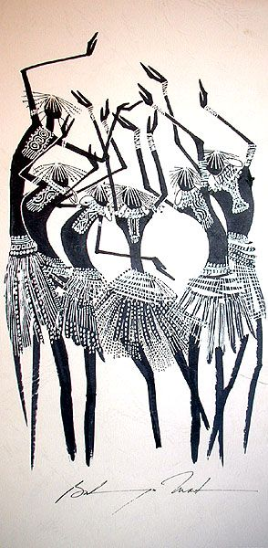 African tribal painting                                                                                                                                                      More