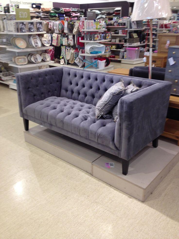 Retro sofa at Home Sense  #HomeSenseStyle @Jane Cannings Canada