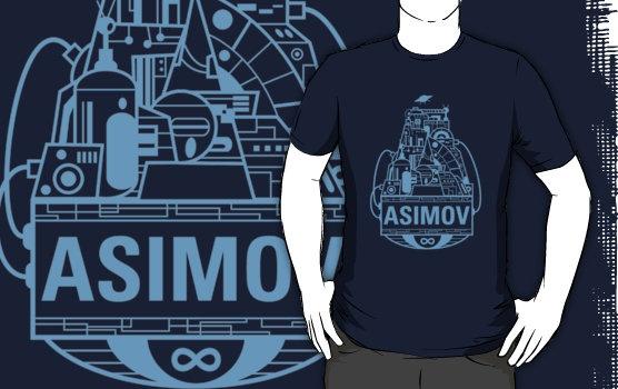 Forever Asimov (light blue)