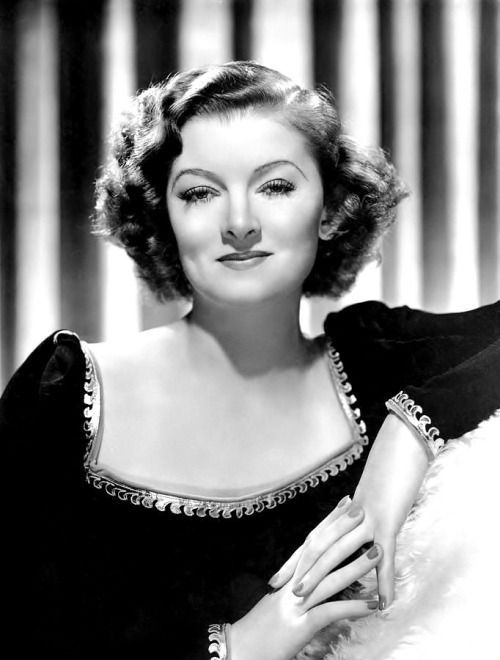 Myrna Loy by Clarence Sinclair Bull, publicity portrait for the MGM romantic comedy Man Proof, 193