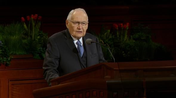 Elder L. Tom Perry explains why marriage and family are still a universal ideal and why we must support efforts to strengthen them worldwide.