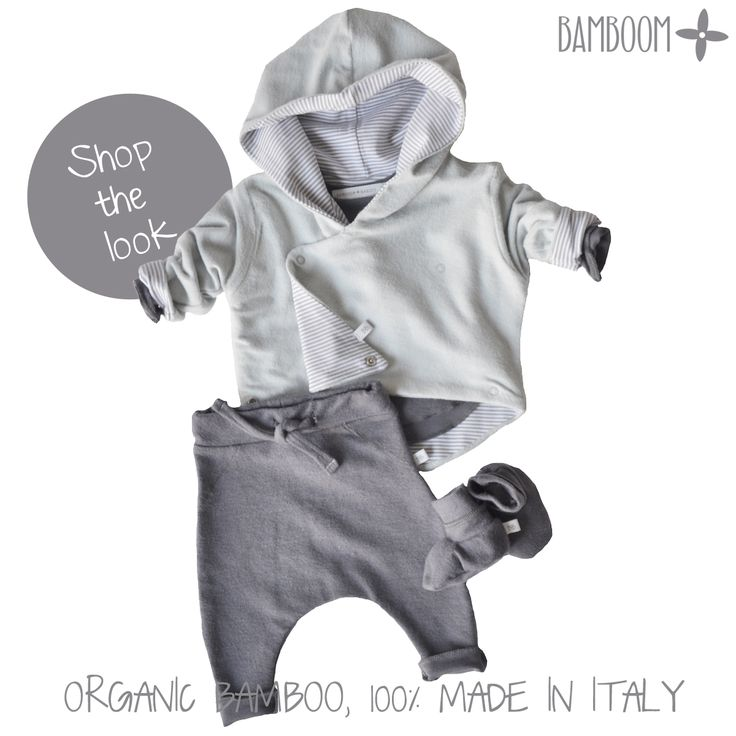 Shop the look: hooded cardigan + pants + booties