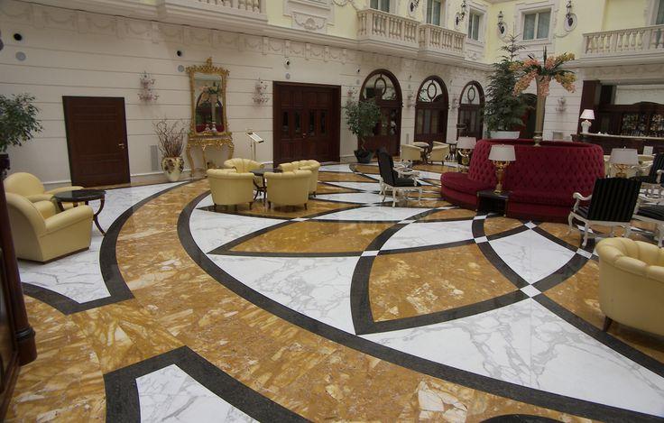 Floor made in marble  hotel elegance italian luxury italian touch  Handmade This floor design would work well for luxurious  or  elegant styles. Пол выполнен в мраморe. изящество роскошного отеля в итальянском стиле. #Handmade Этот дизайн полa хорошо подoйдет для роскошнoго и элегантнoго стиля.