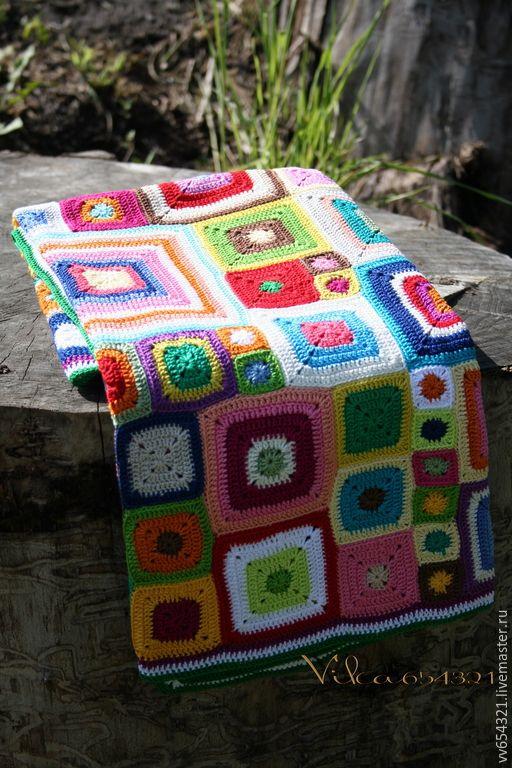 """Купить Плед """"Babette Blanket """" - абстрактный, подарок, подарок девушке, подарок на день рождения"""