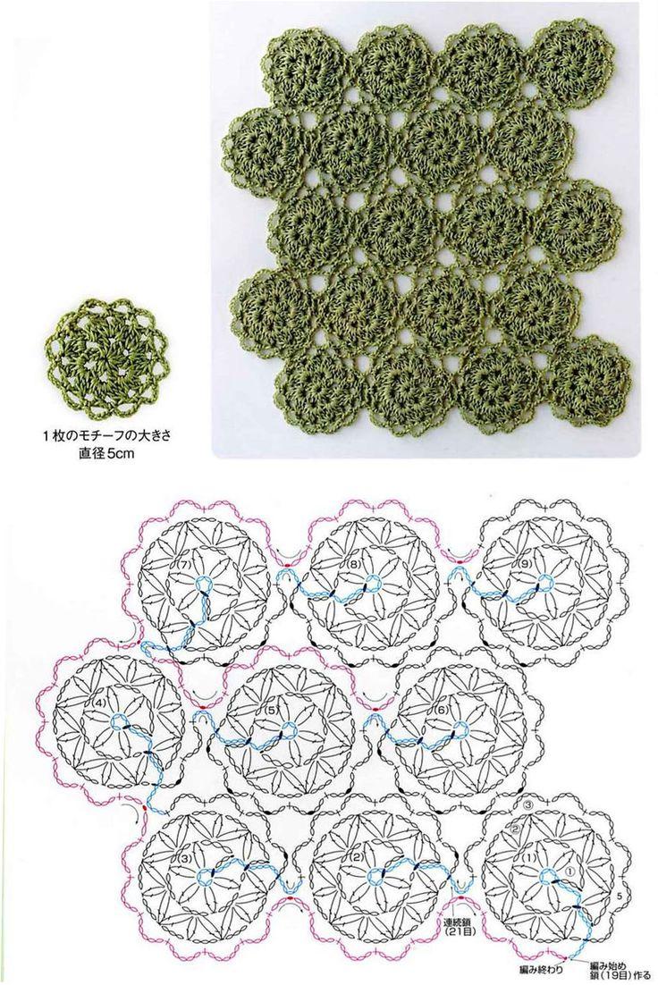 Техника безотрывного вязания полотна крючком - вязание крючком на kru4ok.ru