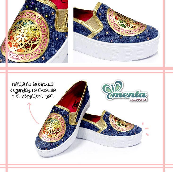 Enamórate de la nueva colección que viene cargada de una hermosa armonía #shoes #mandalas #equilibrio #calzado #mentaaccesorios #tabu #mytabu